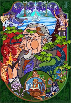 Tolkien:Lord of the middle earth by breathing2004 (Jian Guo).  Holy Smokes!