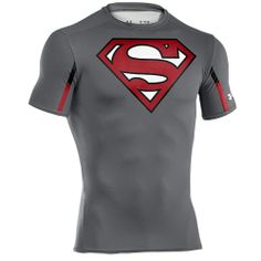 Under Armour Compression Style 1239317 | ... Results : Under Armour Super Hero Logo S/S Compression Top - Men's