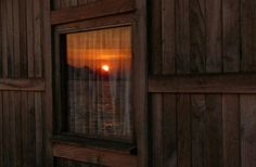 The View Reflected - Windows of Gold | Content in a Cottage