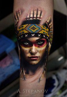 Andrei Stepanov #stepanovtattoo#andreistepanov#secretflesh_tattoo#татувсамаре
