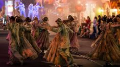 The All-New 'Frightfully Fun Parade' Debuts During Mickey's Halloween Party at Disneyland Park