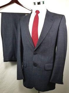 Men's Clothing Suits & Suit Separates Pal Zileri Grey Wool Blazer 52r 4395