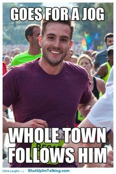 Sexy marathon runner memes