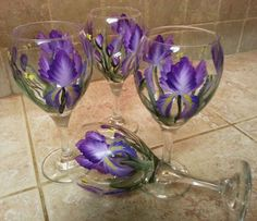One Stroke - Wine Glasses from the 99c store