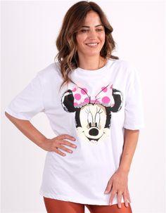 Minnie Mouse Baskılı TshirtKumaş Cinsi  :%100 PamukModelin Ölçüleri : 1.68cm / 36 BedenModelin Üstündeki Beden :Small Tees, T Shirt, Women, Fashion, Supreme T Shirt, Moda, T Shirts, Tee, Women's