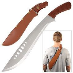 In high demand straight from the movie we bring you the Legendary Prophet Kukri Machete or large knife. It is 21 inches and fully functional. You can take this thing to the Jungle and compare it with...