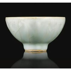 A small 'longquan' celadon bowl. Song dynasty. photo Sotheby's