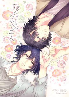 Uta no☆prince-sama♪, Hijirikawa Masato, Ichinose Tokiya, Flower Background