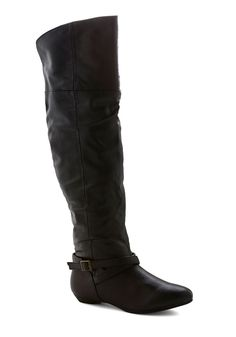Black to Night Sighting Boot | Mod Retro Vintage Boots | ModCloth.com