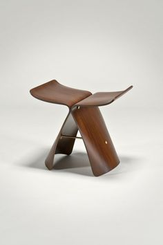 """The fundamental problem is that many products are created to be sold, not used"" - SORI YANAGI - (""Butterfly Stool"" designed by Sori Yanagi for Vitra)"