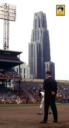 Forbes Field Pittsburgh PA, 1960 World Series. No baseball field there anymore. Pittsburgh Pirates Baseball, Baseball Park, Pittsburgh City, University Of Pittsburgh, Pittsburgh Sports, Baseball Stuff, Baseball Teams, Baseball Photos, Baseball Field