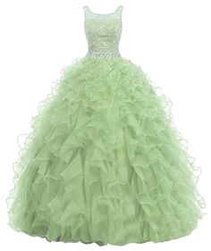 Beyonddress Women's Ball Gown Prom Dress Beaded Ruffles Quinceanera Dress US18W Mint. Tulle fabric;Dry clean only. Fashion Designer's Style Long Dress 2016. Note: Color may be lighter or darker due to the different PC display. Suitable as prom dresses, cocktail dresses, evening dresses, homecoming dresses and other formal dresses. We are factory store,High Quality,cheapest Price and Fast Shipping.