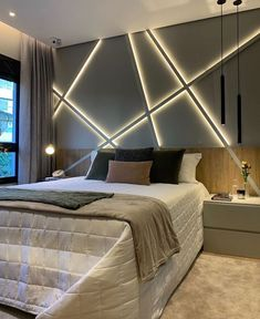 Stylish home decor and design inspiration. Apartment decorating tips, wall art ideas, and chic decorative objects to shop Grey Home Decor, Home Decor Colors, Stylish Home Decor, Luxury Bedroom Design, Master Bedroom Design, Dark Master Bedroom, Loft Style Homes, House Ceiling Design, Hallway Designs