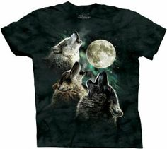 """Ah, the Three-Wolf-Moon Shirt! Most fabulous reviews on Amazon.     """"This item has wolves on it which makes it intrinsically sweet and worth 5 stars by itself, but once I tried it on, that's when the magic happened."""""""