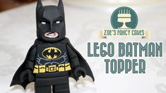 Lego Batman cake topper tutorial :) if you like the videos, please subscribe for more content ( it's free! ) and be sure to share the videos with your friends.