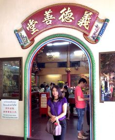 chinese temple in Bkk.