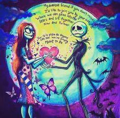 Jack & Sally The Nightmare Before Christmas