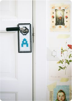 Door handle sign - by Craft & Creativity