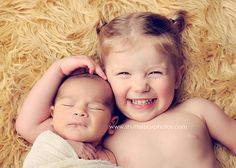 infant w/sibling