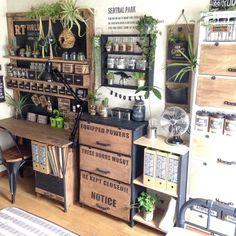 Rustic Wood, Rustic Decor, Cottage Style Decor, Interior Work, Japan Design, Style Retro, Cool Kitchens, Kitchen Decor, Home Goods