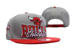 NBA Chicago Bulls Snapback Hats New Era Gray 2369|only US$8.90