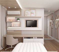 Home Room Design, Home Bedroom, Bedroom Interior, House Rooms, Home Office Design, Room Decor Bedroom, Modern Bedroom, Girl Bedroom Decor, Interior Design Bedroom