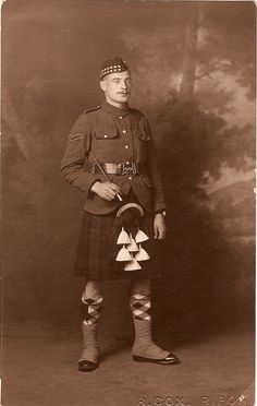 British soldier ww1 Argyll and Sutherland Highlanders by thardy1, via Flickr
