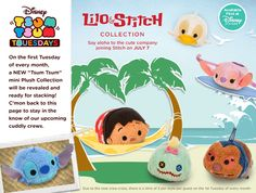 Tsum Tsum Collection Lilo and Stitch - TsumTsumPlush.com is a great store for Disney Tsum Tsums