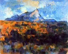 La Montagne Sainte-Victoire (1904-1906) Paul Cézanne #cezanne #art