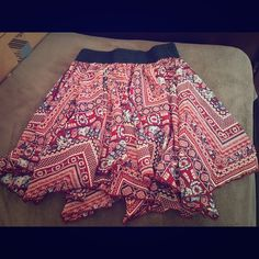 🎉🎉HP🎉🎉floral skirt cute floral skirt . worn once love blossoms  Skirts A-Line or Full
