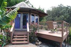Brennan and I stayed here. 😍 Makawao Studio Rental: 'discover Aroma' At The Octagon Studio Hawaii Vacation Rentals, Vacation Rental Sites, Hawaii Travel, Vacation Ideas, Unique Vacations, Dream Vacations, Studio Rental, Hawaii Usa, Thing 1