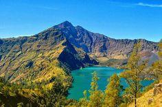 Rinjani mountain, indonesia Komodo Island, Gili Island, Denpasar, Lombok, Trekking, Bali, Tourism, Beautiful Places, National Parks