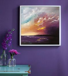 A personal favorite from my Etsy shop https://www.etsy.com/listing/550665835/abstract-art-landscape-oil-painting-on