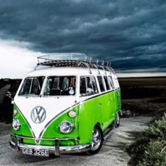 Our VW bus was red and white - super car to have in Turkey when I was a little girl