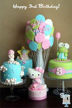Hello Sophia! :) Cakes by Sugar High inc.