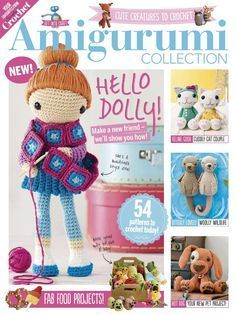 WHOLE MAG,Simply Crochet Amigurumi Collection Vol. 2 2017 - 轻描淡写 - 轻描淡写. || THERE IS THE CUTIEST SEAHORSE, A PAIR OF OTTERS, AND EVEN A COUPLE OF LOVEBIRDS! ALL, SO SWEET! ♥A