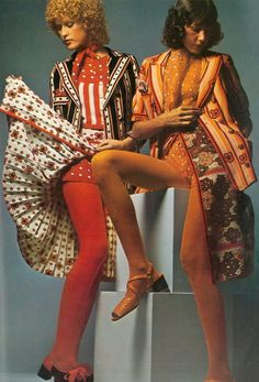 """In the early '70s, the whole fashion world went through an """"awkward phase."""""""