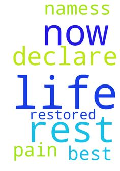 in jesus name I declare the rest of my life will be - in jesus name I declare the rest of my life will be the very very best of my life now all pain is restored to me now in jesus namess Posted at: https://prayerrequest.com/t/H5G #pray #prayer #request #prayerrequest