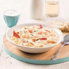 Verrines de cantaloup et prosciutto - 5 ingredients 15 minutes Confort Food, Lchf, Keto, Seafood Recipes, Slow Cooker Recipes, Risotto, Macaroni And Cheese, Crockpot, Healthy Recipes