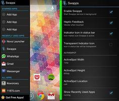 Swapps, cambia de una aplicación a otra con sólo deslizar el dedo  http://www.xatakandroid.com/p/90066
