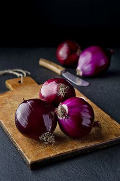 red onion / cebola vermelha