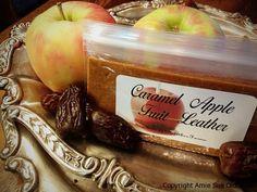 Caramel Apple Fruit Leather