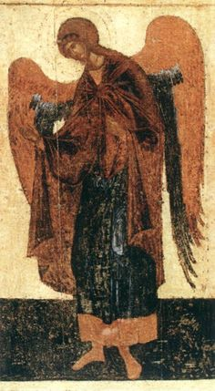 Theophanes the Greek - Icon from the Deësis Tier (c. 1399)