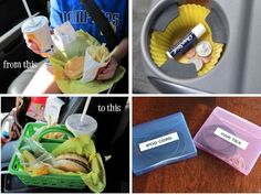 Must-read car organization hacks like creating a trash can, trunk and cup holder organizers, plus many more. Find out how to organize your car to make...