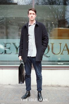 Men's Street Style - Laid-Back Formal
