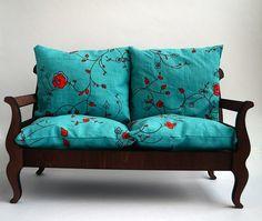 Sofa - 1 for doll size 1/6, 1/4, 1/3 (BJD, momoko, blythe, obitsu, volks, unoa, barbie, fashion doll, azone, furniture)