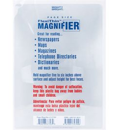 Mighty Bright FlexiThin Magnifier-Page Size