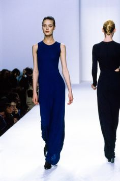 Calvin Klein Collection Fall 1996 Ready-to-Wear Fashion Show - Shalom Harlow
