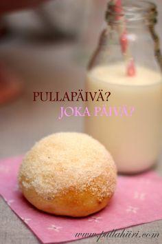 Pullahiiren leivontanurkka: Pehmeä vaniljapulla