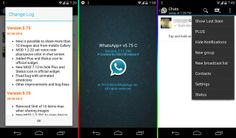 AndroidWorld: Whatsapp+ v5.75C By Rahil apk